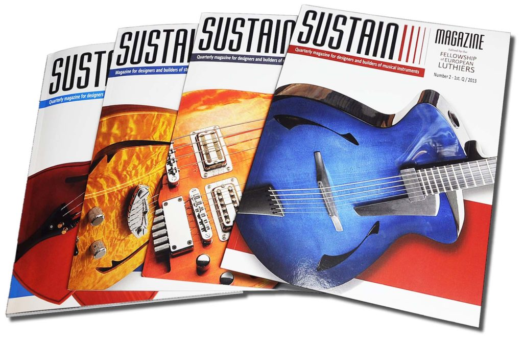 The Magazine For Luthiers Lospennato Electric Guitars